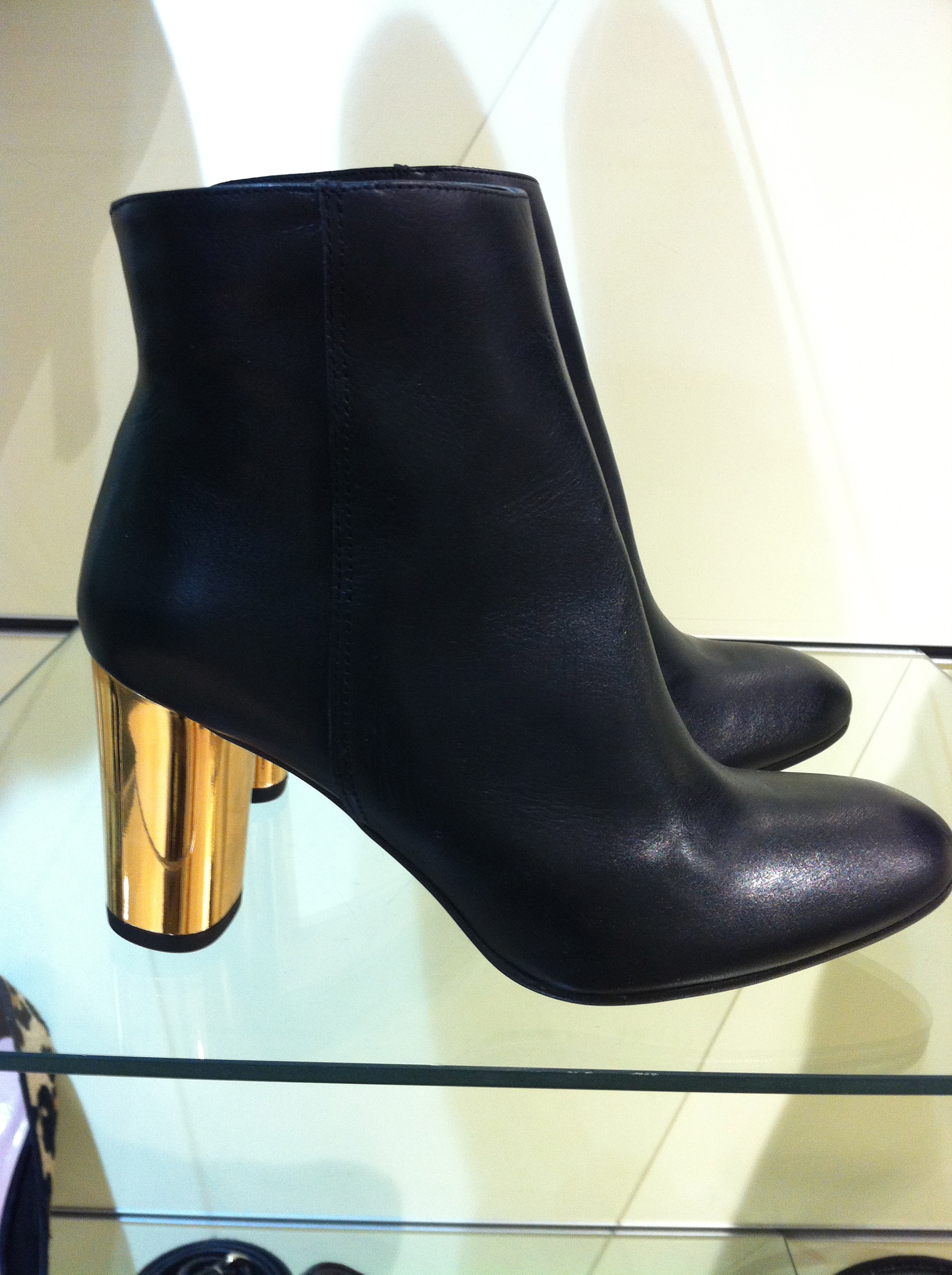 Boots With Silver Heel