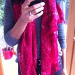 MJ scarf