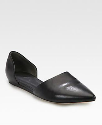 Vince-Leather-dOrsay-Flats